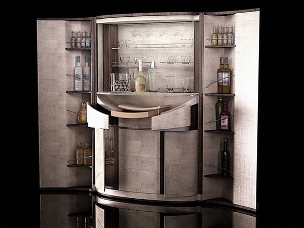 Винный бар Tectonic в духе шпионских детективов