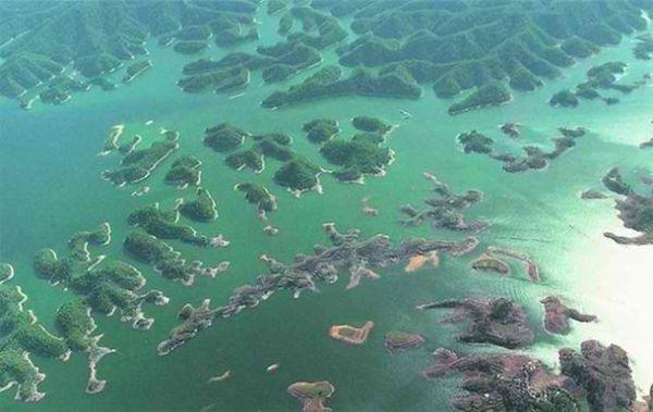 Озеро Qiandao