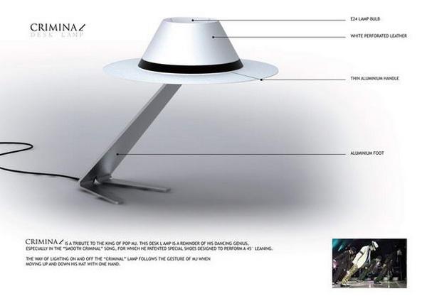 лампа Criminal Desk