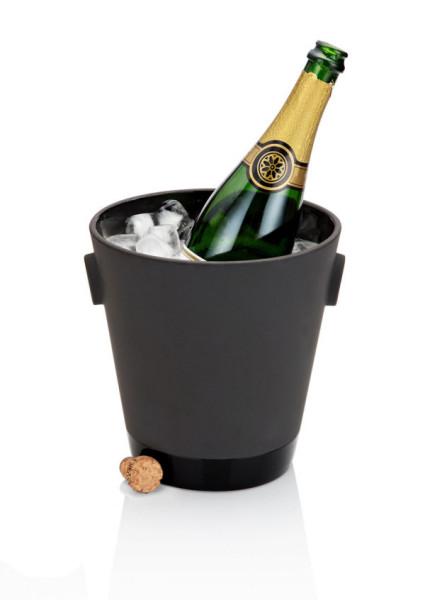 Ведро для шампанского из коллекции Magisso Black Terracotta Barware