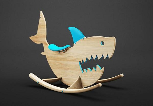 Акула-качалка.