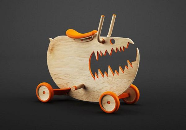 Монстры-качалки: новое поколение детской мебели.