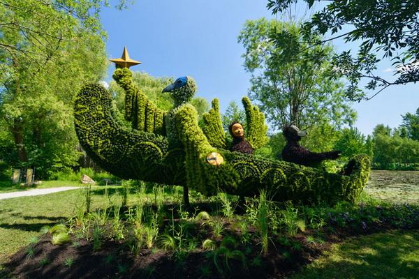 выставка садовых скульптур