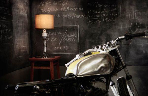Classified Moto: коллекция мебели из деталей мотоцикла