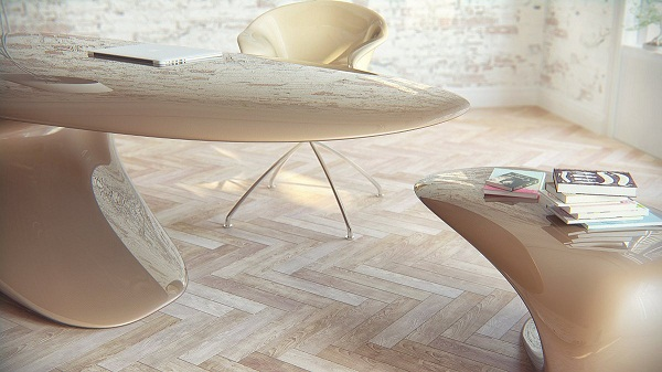 Необычный стол Nebbessa