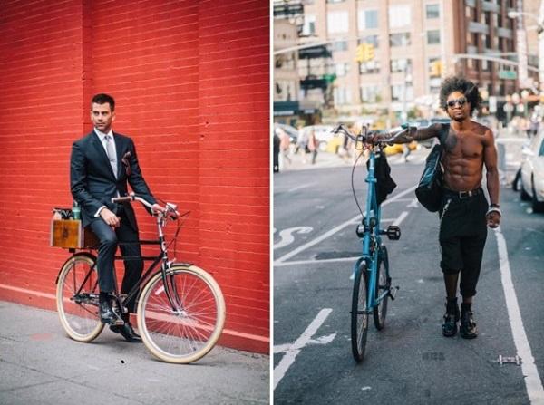 Велосипеды Нью-Йорка.