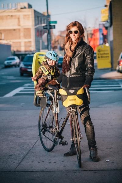 Велосипед с пеленок.