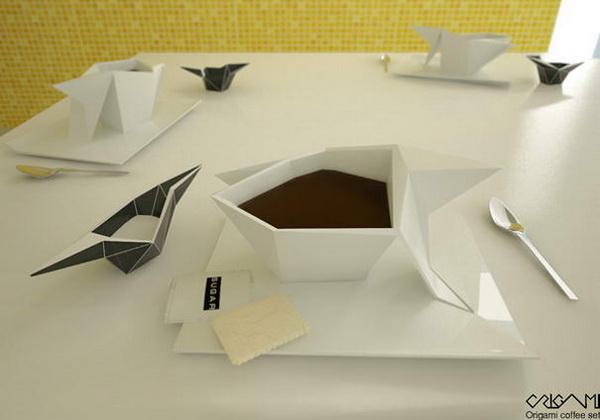 чашка-оригами
