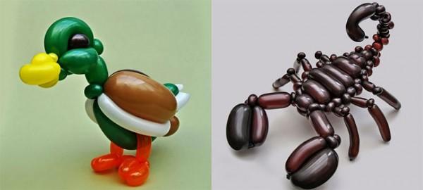 Rob Driscoll: фигуры из воздушных шаров