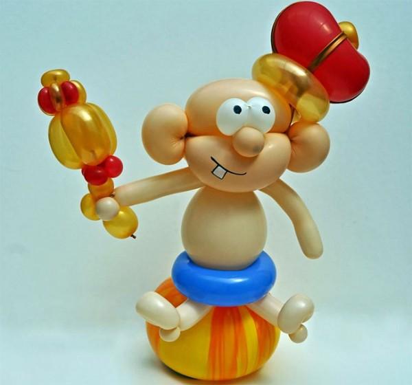Скульптура из воздушных шаров