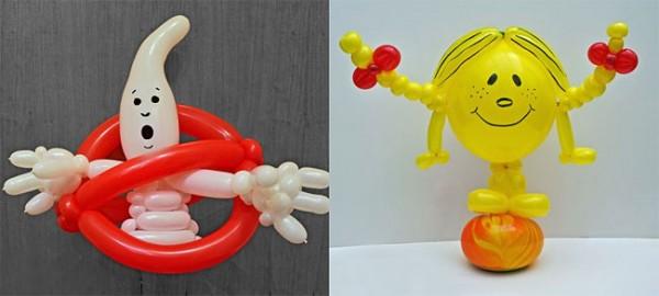Фигуры Rob Driscoll из воздушных шаров