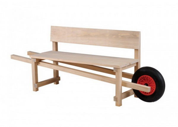 мобильная скамейка Wheelbench