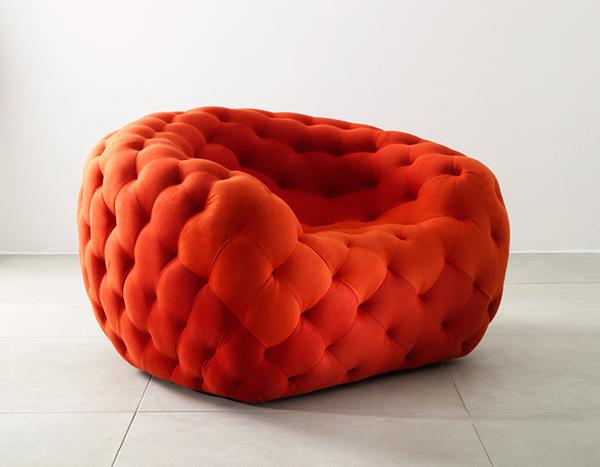 Коллекция мебели «Royere» из замши