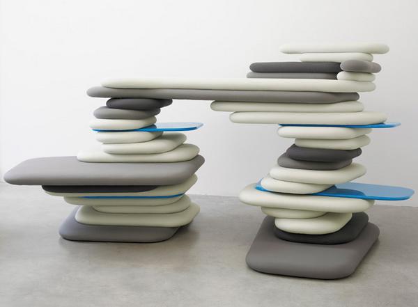 """каменная мебель """"Possible Furniture"""""""