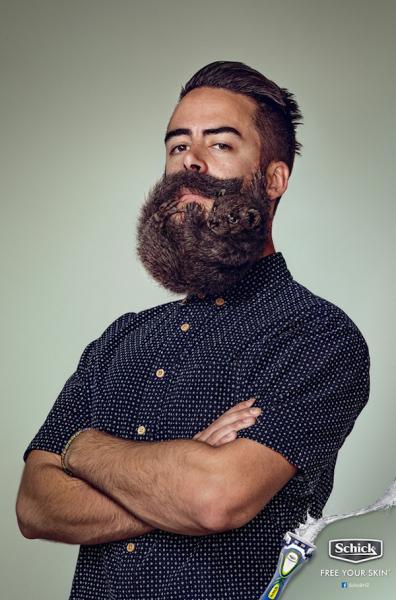 Живая борода.
