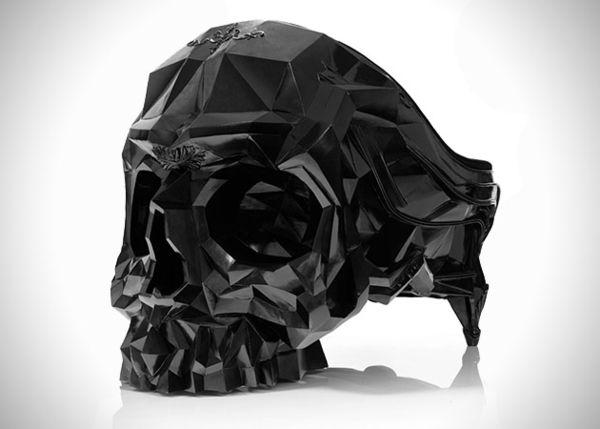 Кресло в форме человеческого черепа от Harold Sangouard