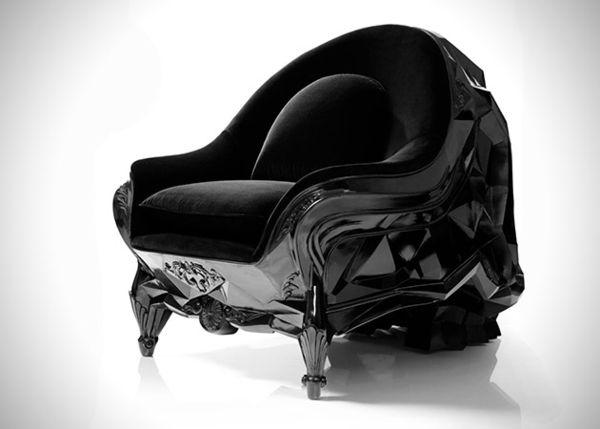 Необычное кресло в форме черепа от Harold Sangouard