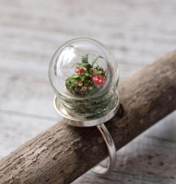 Terrarium: коллекция цветочных украшений