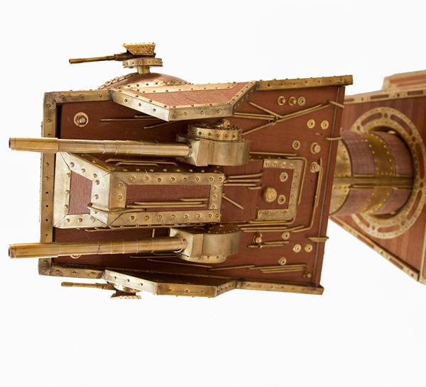 Винный бар The Emperor's Cabinet в стиле стимпанк