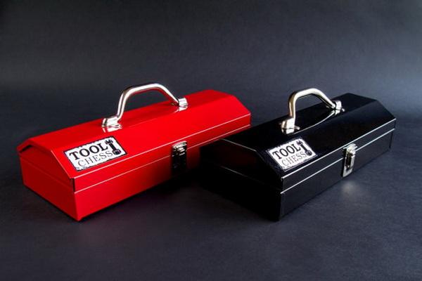 Tool Chess: шахматы ручной работы из металлических гаек и болтов