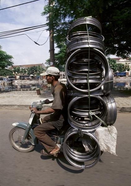 Мотоциклы Вьетнама на фотографиях Hans Kemp.