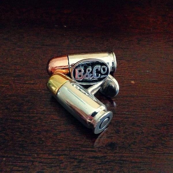 запонки в виде пуль