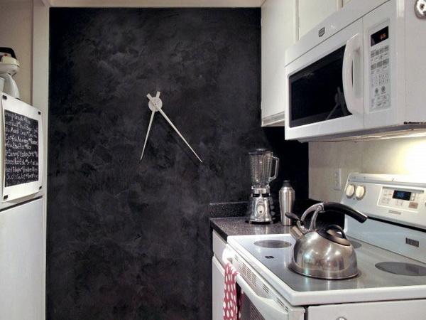 Настенные часы на кухне