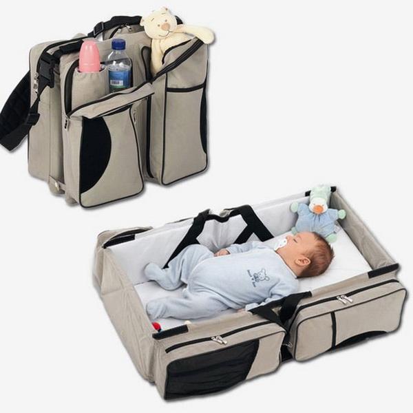 детская кровать в сумке