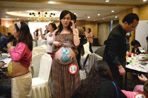 конкурс среди беременных