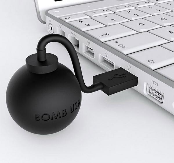 Взрывоопасный USB-накопитель