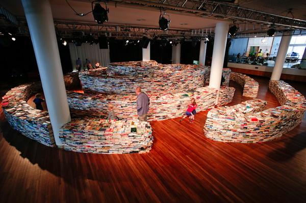Лабиринт из 250000 книг
