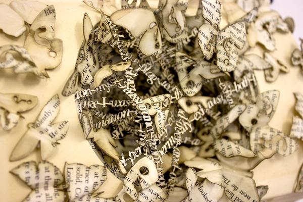 Бумажные скульптуры от Thomas Wightman