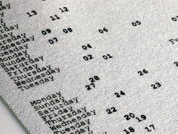 Вязаный календарь
