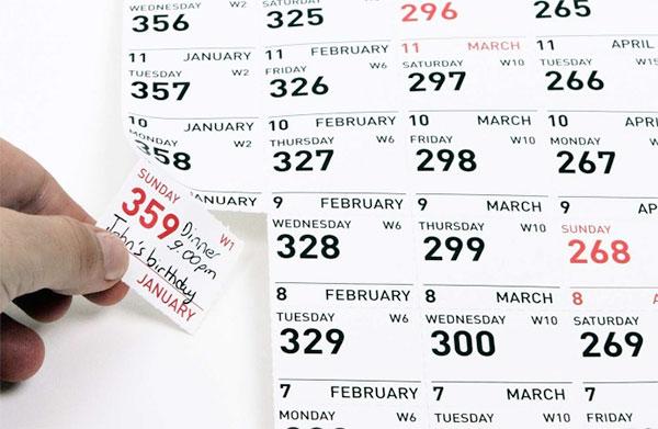 Современный отрывной календарь