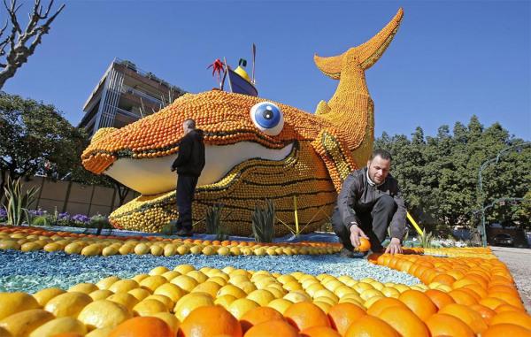 Фестиваль Fete du Citron во Франции
