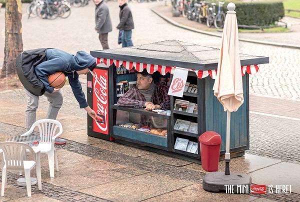 Мини-киоски от Coca-Cola.
