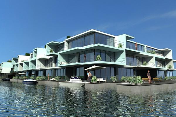 ТОП-10 плавающих домов будущего