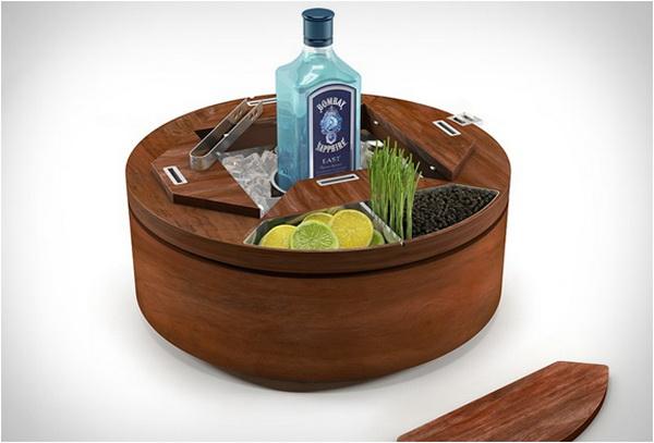 Мобильный бар Gin Wheel