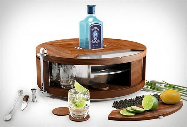 Мобильный бар Gin Wheel для любителей джина