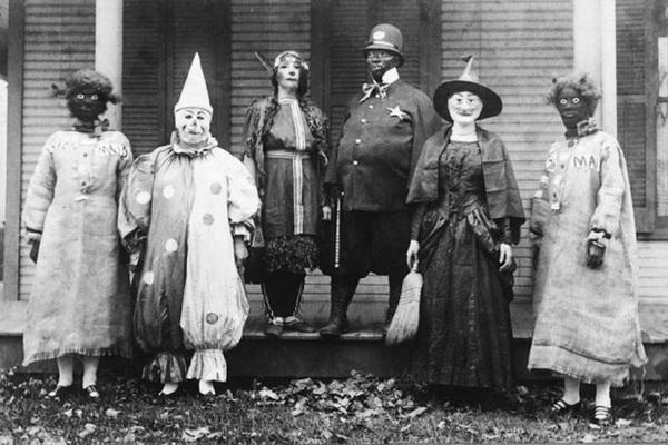 костюмы на Хэллоуин 100-летней давности
