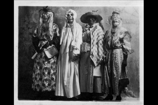 Хэллоуин 100 лет назад