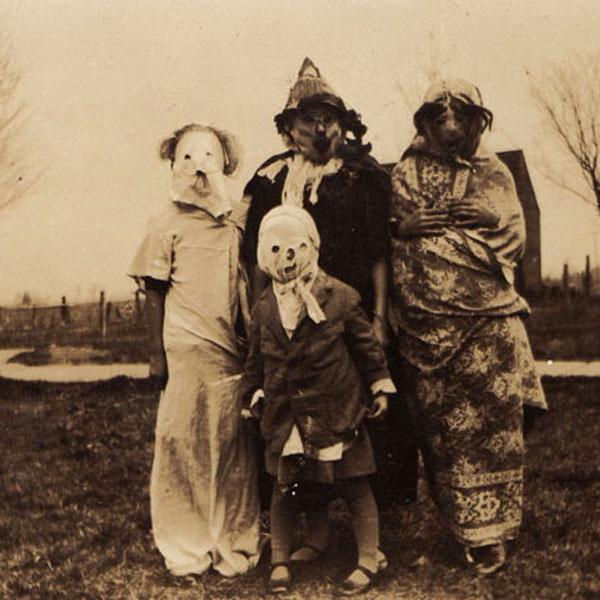Хэллоуин в стиле винтаж