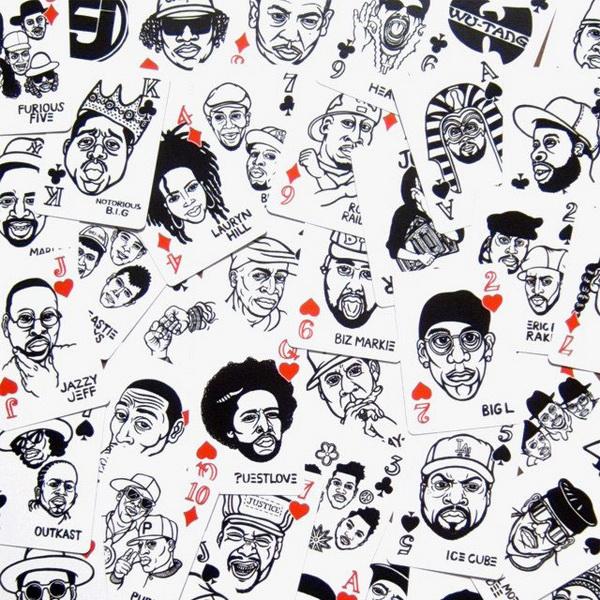Карты в стиле хип-хоп