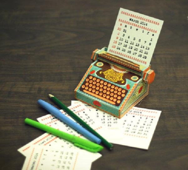 Оригинальные настольные календари