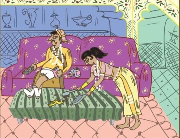 как заставить мужа убирать