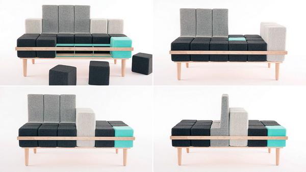 Модульный диван Bloc'd