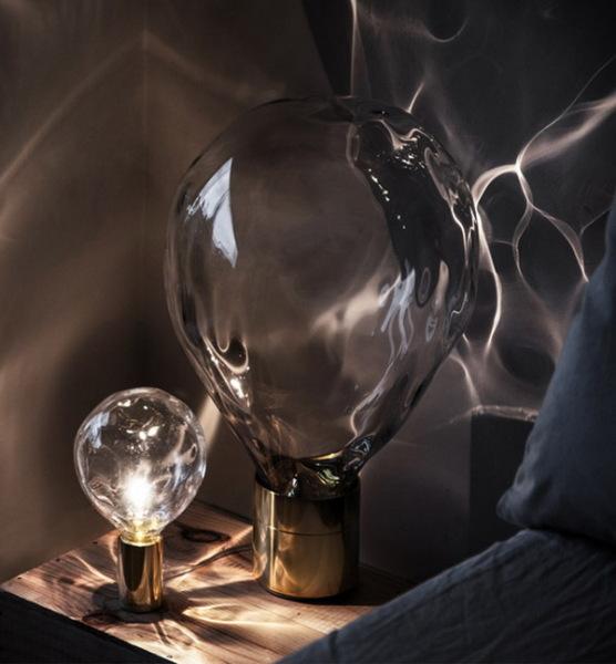 "Коллекция ламп ""Ripple Light"", создающая иллюзию морского дна"