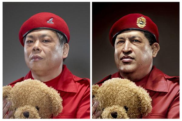 Прототип Уго Чавеса.