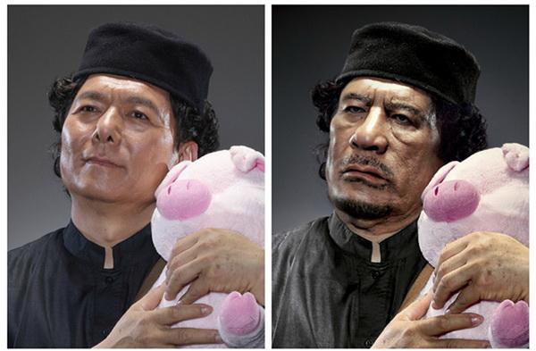 Прототип Муаммара Каддафи.