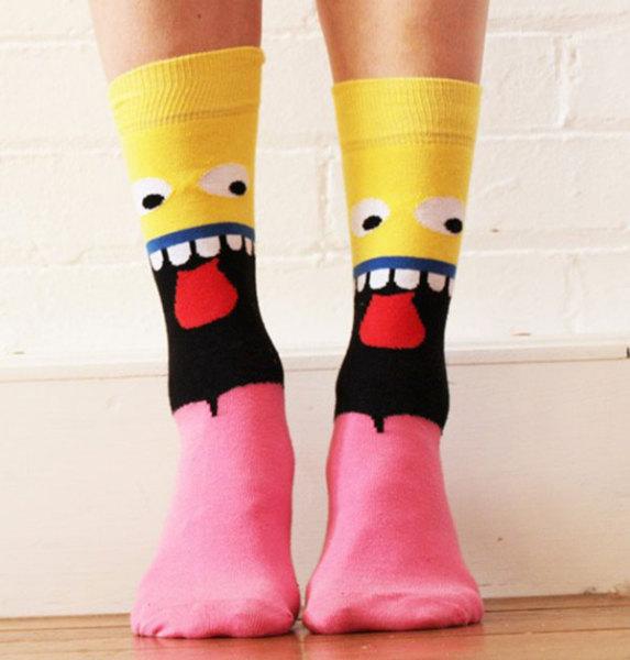 носки - Губка Боб квадратные штаны